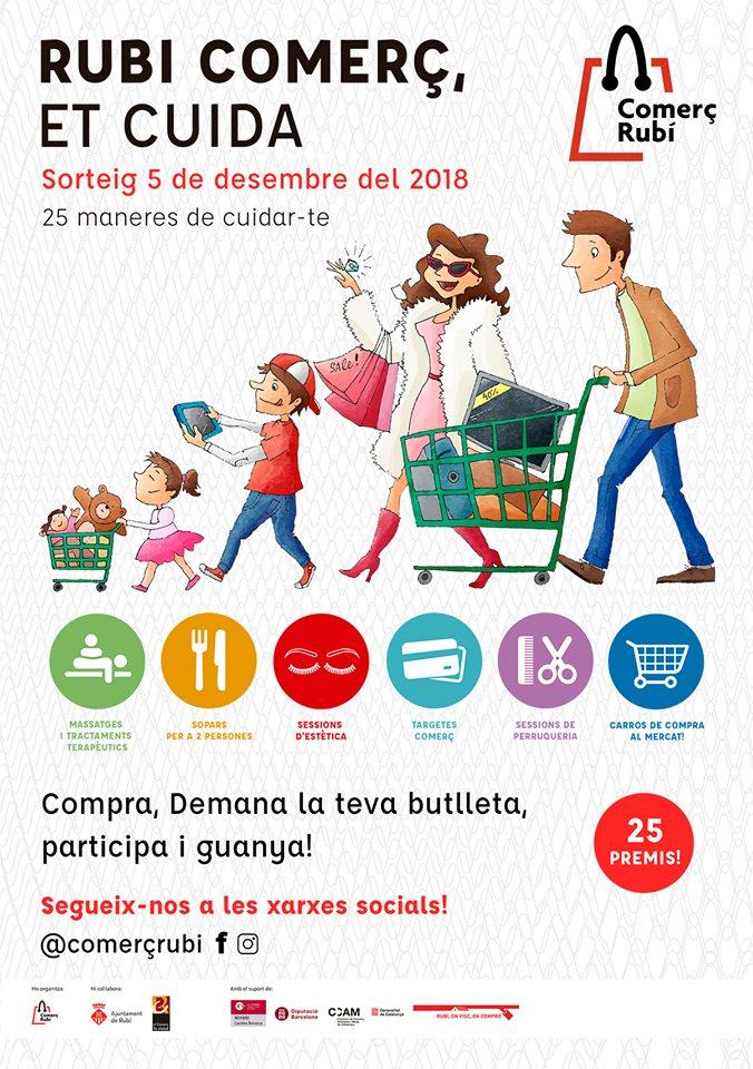 Campanya 'Comerç Rubí Et Cuida'